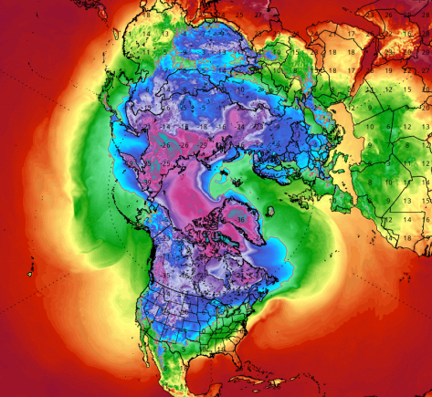 North Pole will be warmer than southern California today, meteorologist says https://t.co/0vYJzuJQcJ https://t.co/kD0nyobuf5