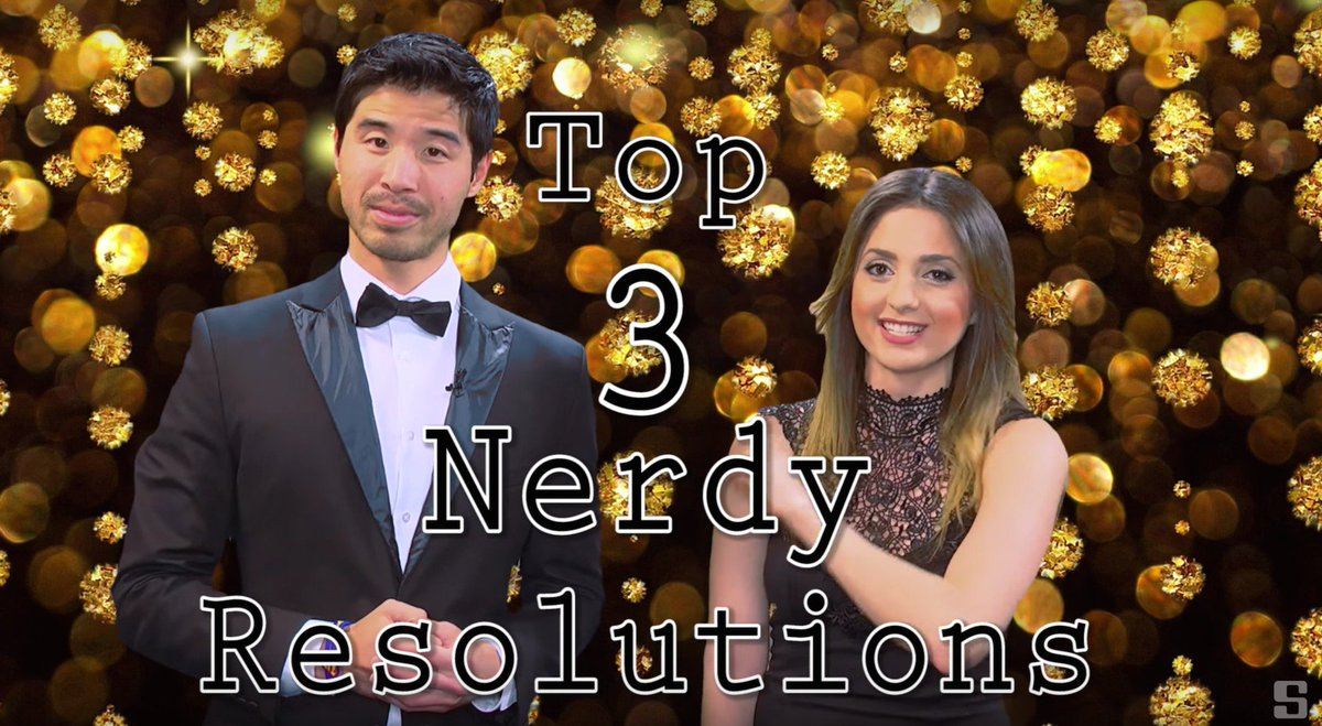 Top 3 NERDY #Resolutions w/@JonLeeBrody @alexacappiello https://t.co/yTU9Db3yxf #NewYearsResolution #NerdTalk #2016 https://t.co/qLorAjhwSI