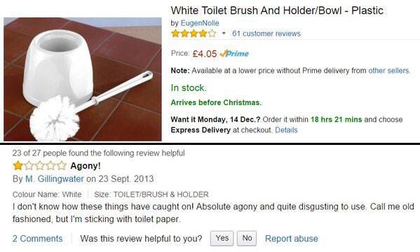 Best Amazon review ever... https://t.co/cAXB40dzge