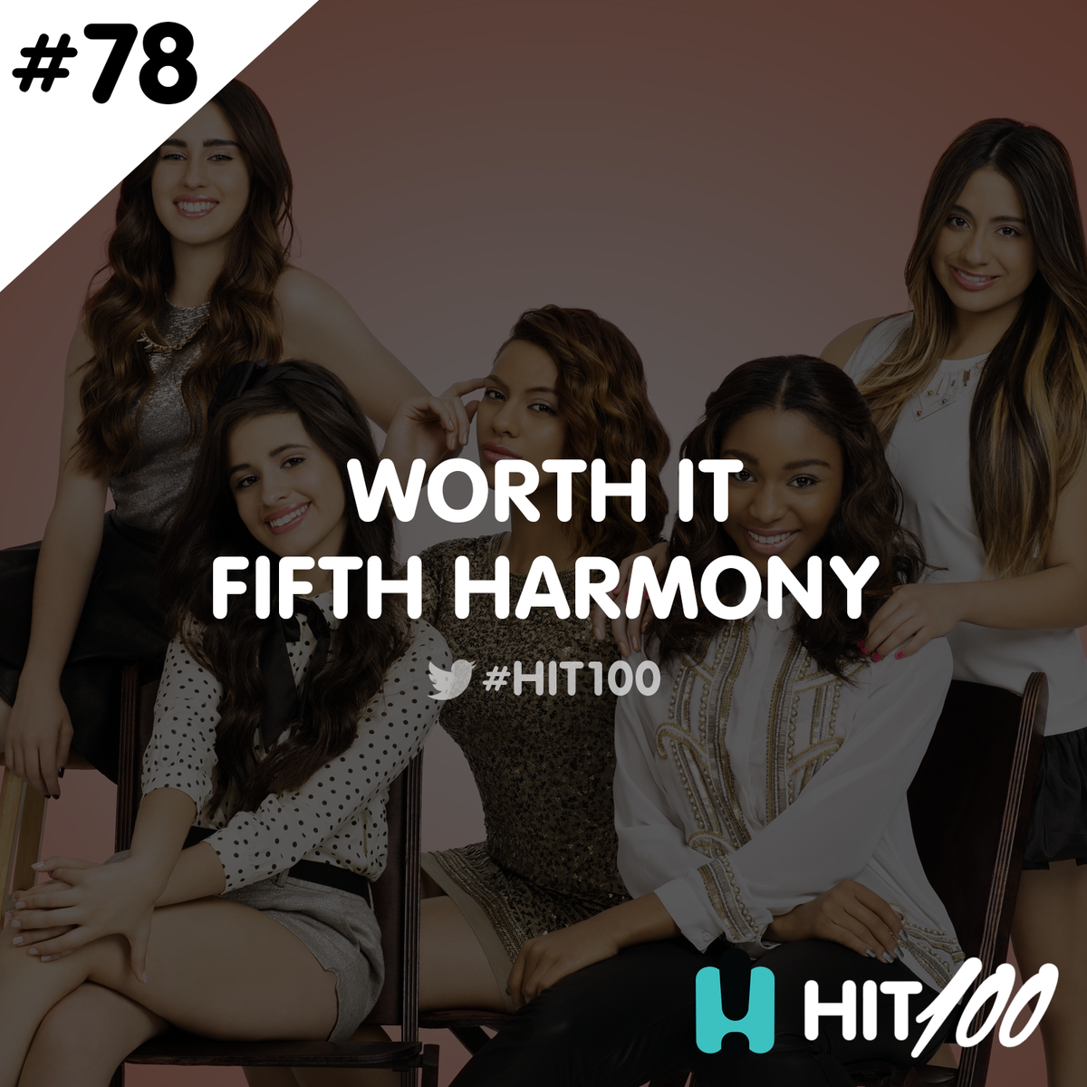 The biggest hits of 2015! 78 on the #hit100 is @FifthHarmony WORTH IT  - @englishchris https://t.co/1RZT7Vtn2P