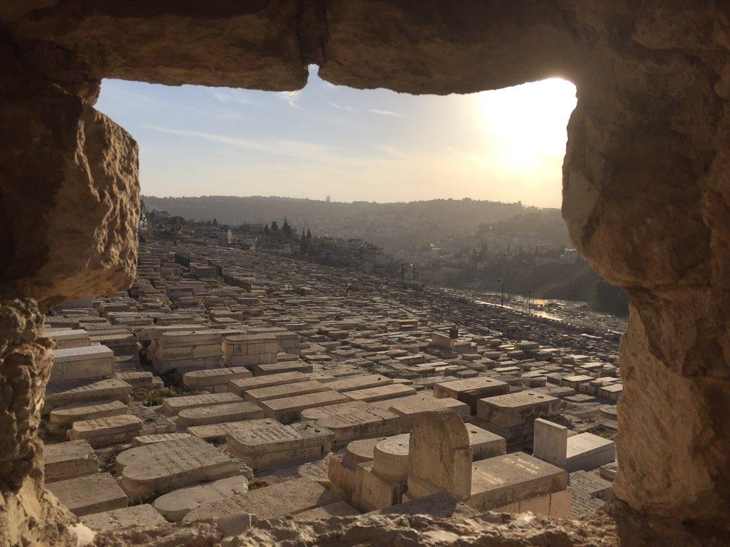 The Jewish Cemetery on the Mount of Olives, Jerusalem. https://t.co/RLmMx3vnOd
