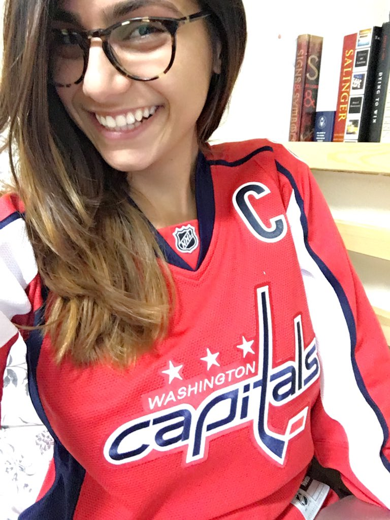That's what I'm talking about! #RockTheRed #CapsSabres E0T5eImVhq