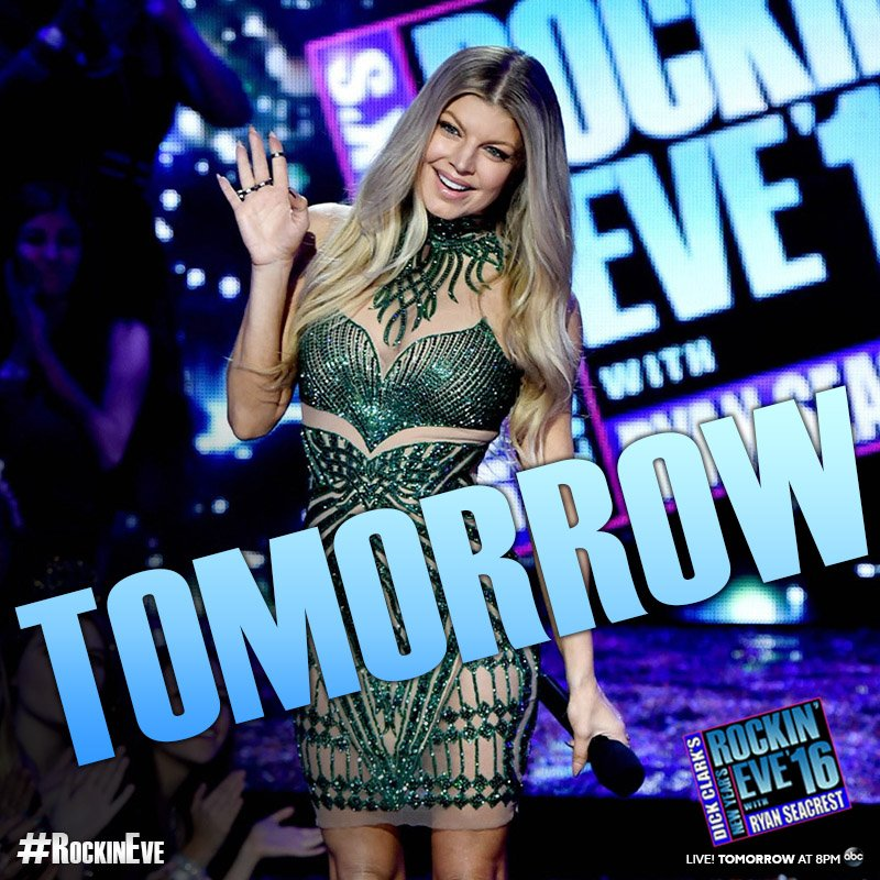 Only 1 more day 'til non-stop @NYRE music & 2 more days #Until2016! Are you ready for #RockinEve?! https://t.co/7FjHJRazOP