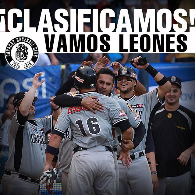 Leones del Caracas (@leones_cbbc): ¡¡CLASIFICAMOS!! https://t.co/AuoHbgrREO