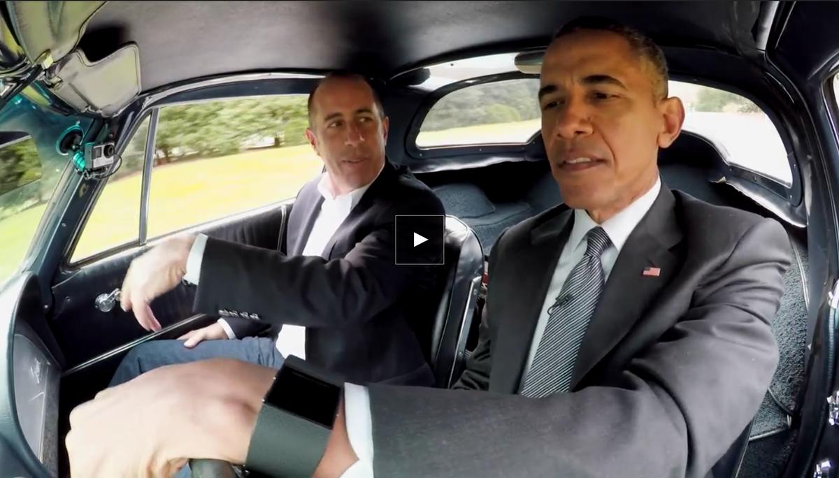 .@bfeld .@fredwilson   Fitbit Commercial.   Featuring POTUS & Seinfeld  https://t.co/3c9wtTvR5f https://t.co/513hc8Gw3Z
