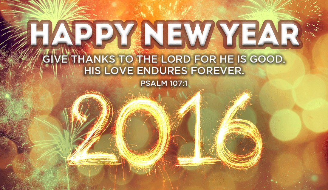 Happy New Year! #BibleVerseoftheDay https://t.co/qbvzF28fmA https://t.co/ITpzrAmpuf