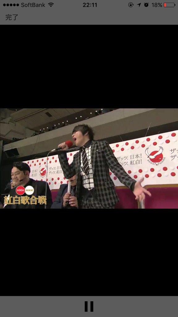 西川さん熱唱wwwwww  #NHK紅白 #紅白裏トーク https://t.co/g2UMVjuKPv