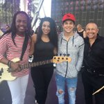 RT @EarthWindFire: With @JordinSparks & @AustinMahone at soundcheck for #PitbullNYE https://t.co/7Gj6iZSCfU