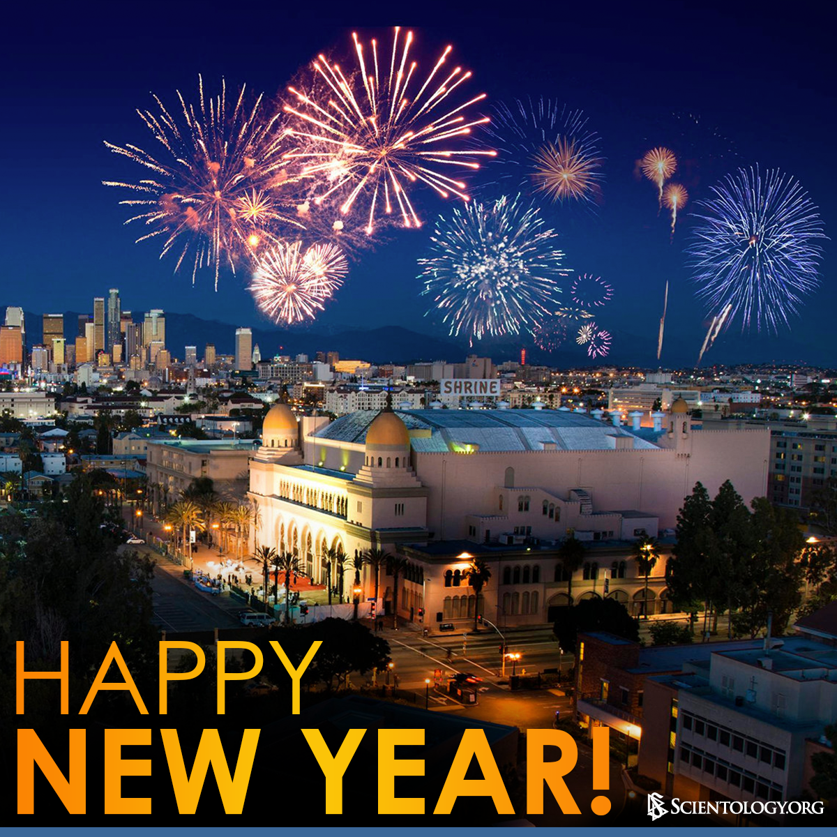 The Church of Scientology wishes you a wonderful New Year's Eve! https://t.co/xQy2tA3j4D