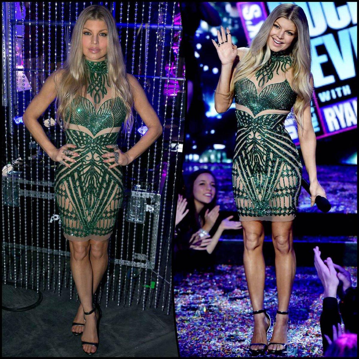 RT @FergieFootwear: #tbt 2014: @Fergie rockin' @NYRE in a @CharbelZoe #sequindress & REIGN #sandals.???? #RockinEve https://t.co/JJ81jrpj3a ht…