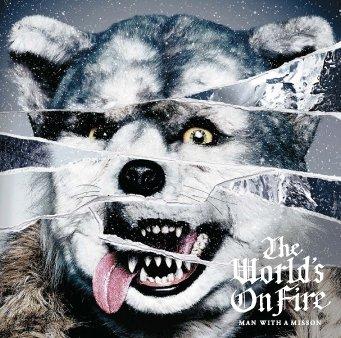 【新春速報!】 待望のニューアルバムThe World's On Fire、ジャケット写真を公開!  詳しくはMAN WITH A MISSION Official Siteにて! https://t.co/nx1O6rUnAb