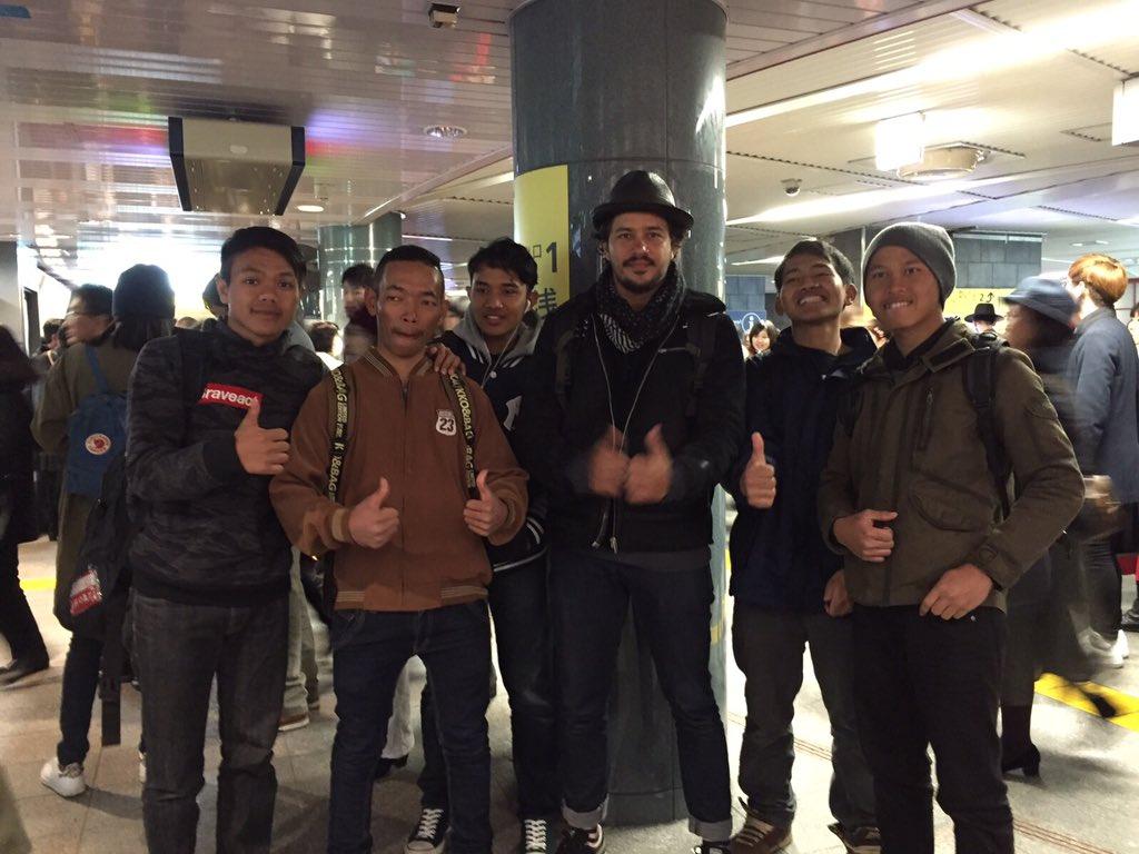 Meet up with AJL_Tokyo #anakjalanan https://t.co/FKRtFthhvX