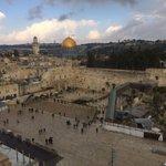 The Western Wall, the Dome of the Rock, Jerusalem. https://t.co/RLmMx3vnOd