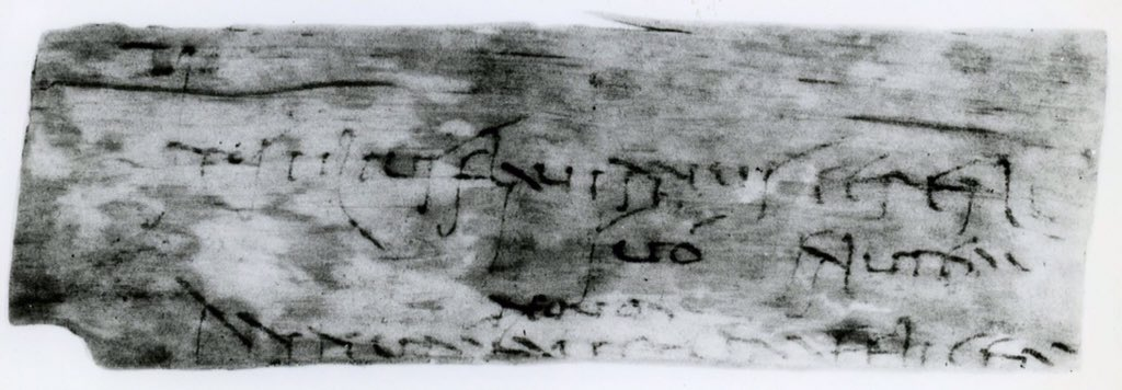 Some messages are timeless 'wishing you a fortunate and happy new year' from AD 100. #vindolanda #NewYear2016 https://t.co/WrR5tmtP7W