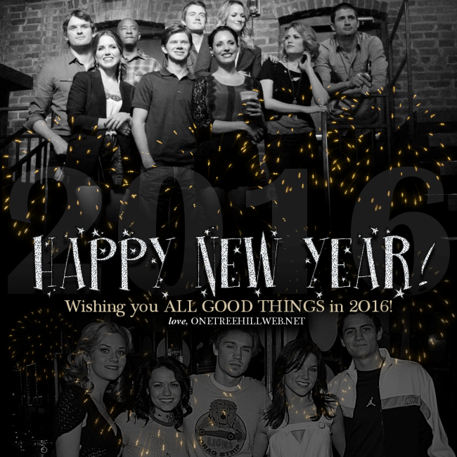 Happy New Year #OTHFamily! #OneTreeHill #OTH