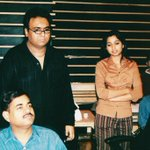 RT @tauseef_akhtar: Some pictures with @shreyaghoshal from the past. During the recording of songs for the movie Aisa Kyun Hota Hai. https:…