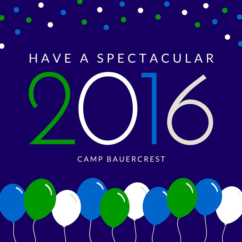 Happy New Year Camp Bauercrest! Wishing everyone a wonderful year! See you on the hillside soon! #crest2k16 https://t.co/HSOO5wgTG2