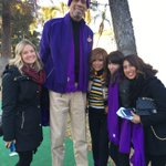 Starting 2016 than by joining @kaj33 on the #Lakers float for @RoseParade. Thank you @dOMAINintegrate #RoseParade https://t.co/Nf0ekvsdGo