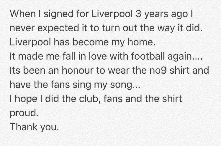 Thank you Liverpool #YNWA https://t.co/81qUeWQrQK