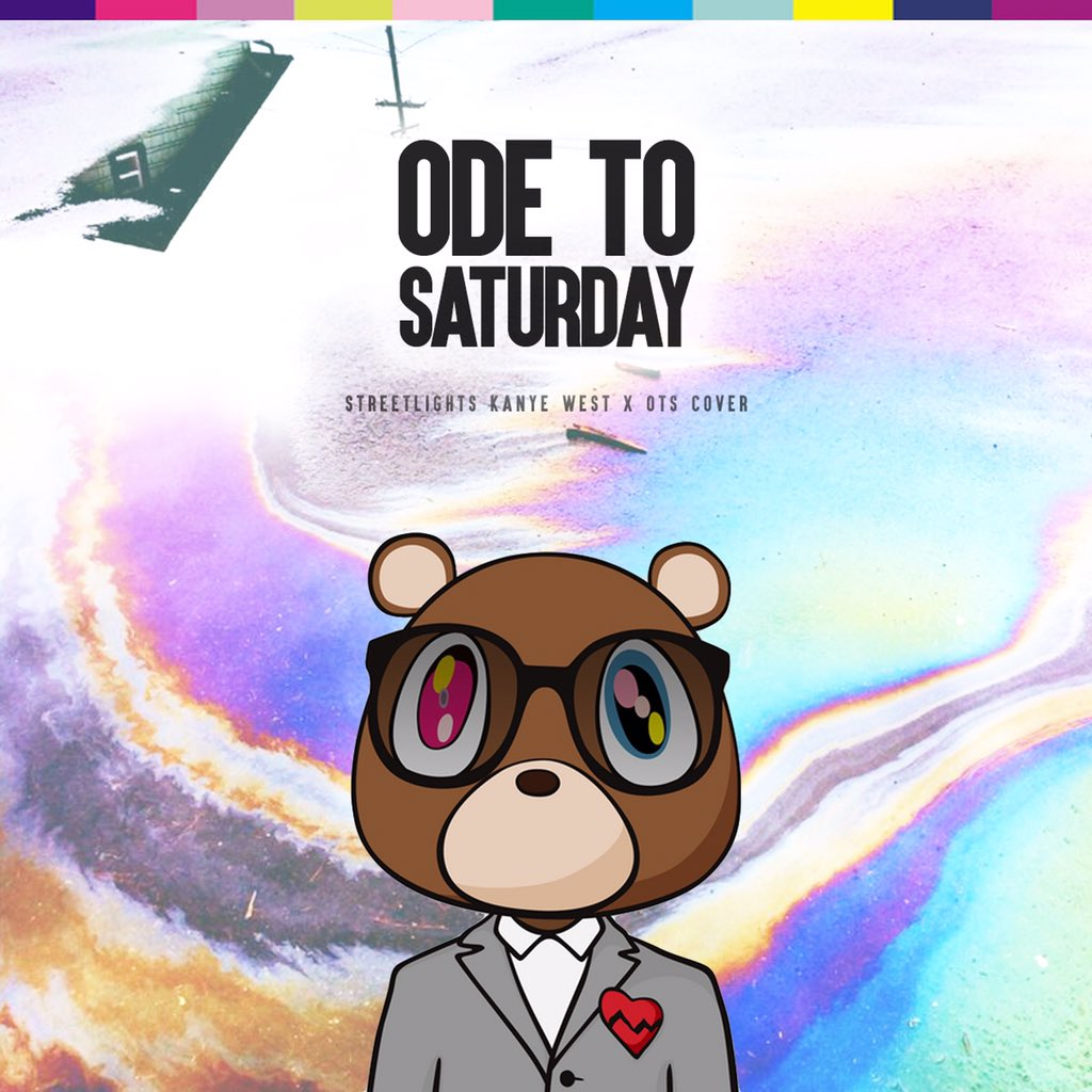 """NEW @Odetosaturday Covers """"Streetlights"""" - @kanyewest """"Exchange"""" - @brysontiller droppin 2DAY!! #everydayissaturday https://t.co/gnArs5LPqA"""