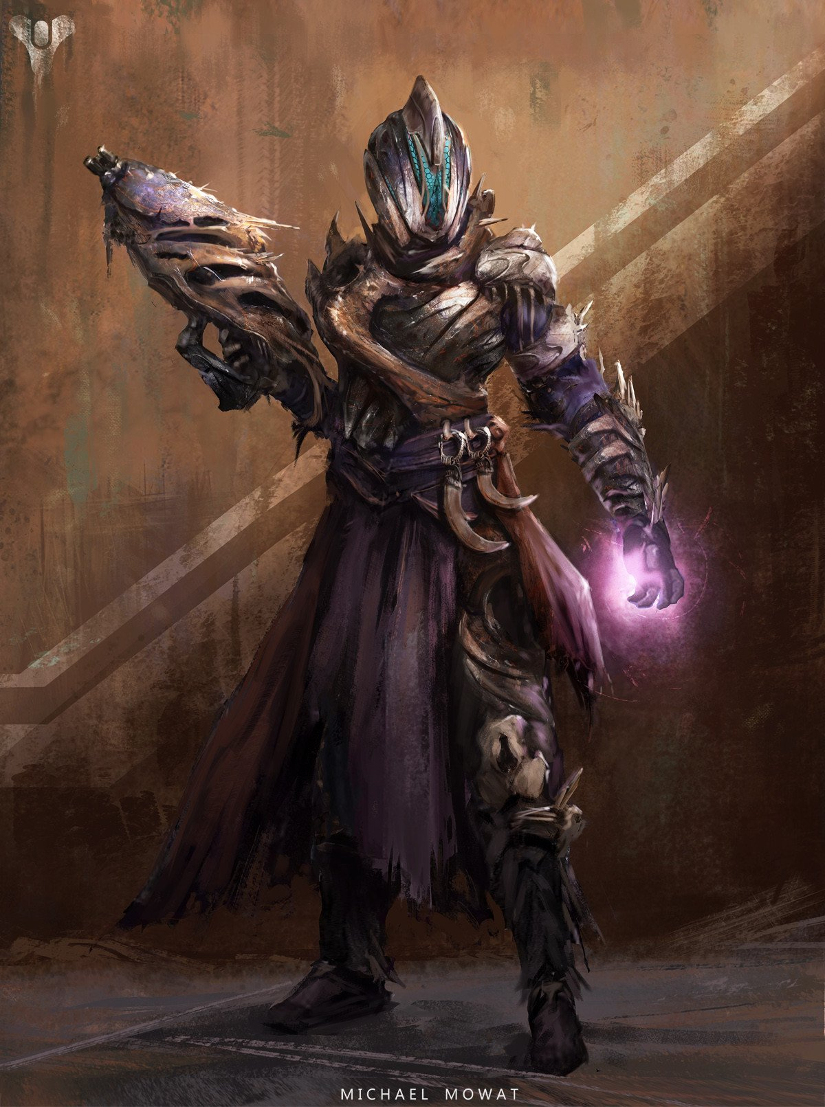 Warlock par Michael Mowat #destinythegame https://t.co/gqBu1nuEvy