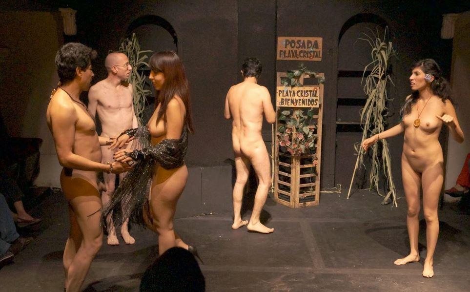 """St_Nudist on Twitter: """"naked drama school ….!! #naturist # ..."""