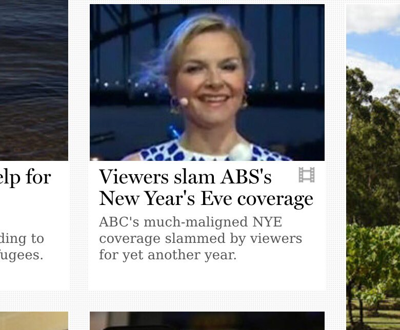 The Australian a Bureau of Statistics really stuffed up its NYE coverage... according to Fairfax... https://t.co/eZBUIa7O1z