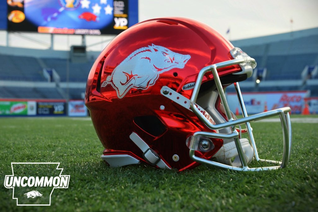 New look for the Liberty Bowl. Players loved it. Let's get 1 more! #WoooPig https://t.co/UgCpPLnvY8