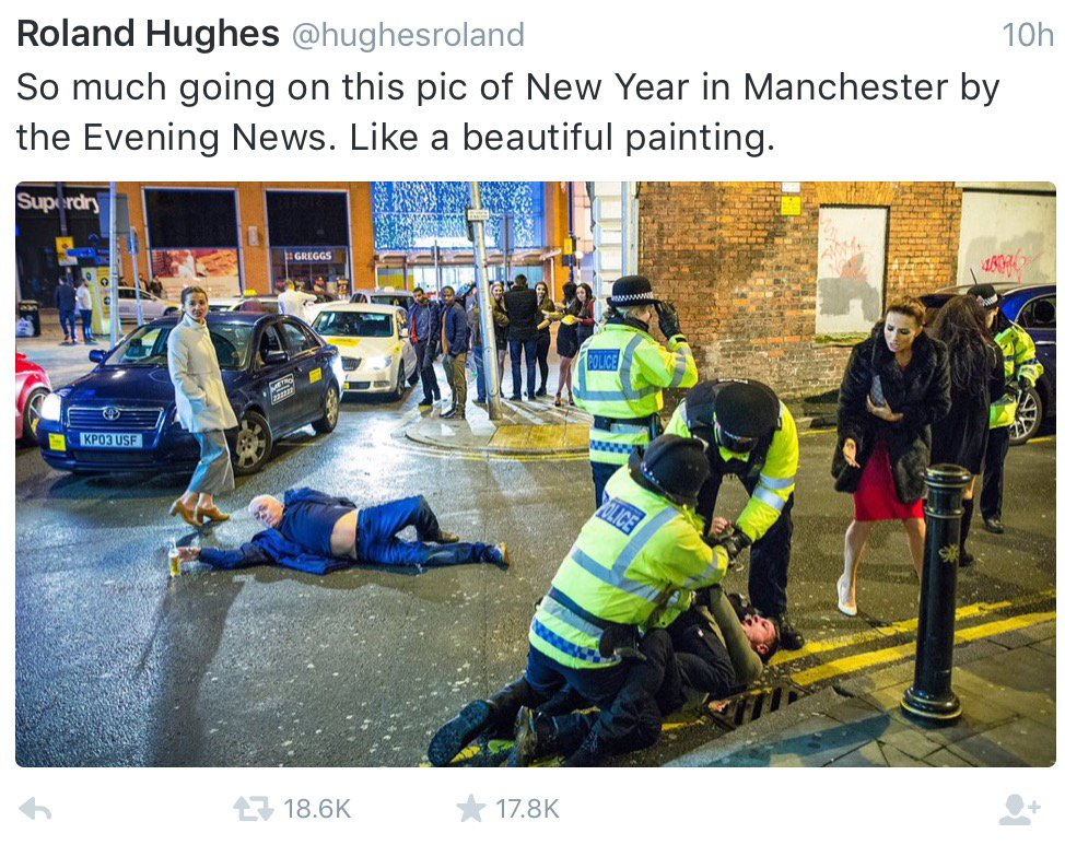 When a photo goes viral without credit ... For the record, Joel Goodman aka @pixel8foto took this:  #NYE2016 https://t.co/o8u4zBYwF2
