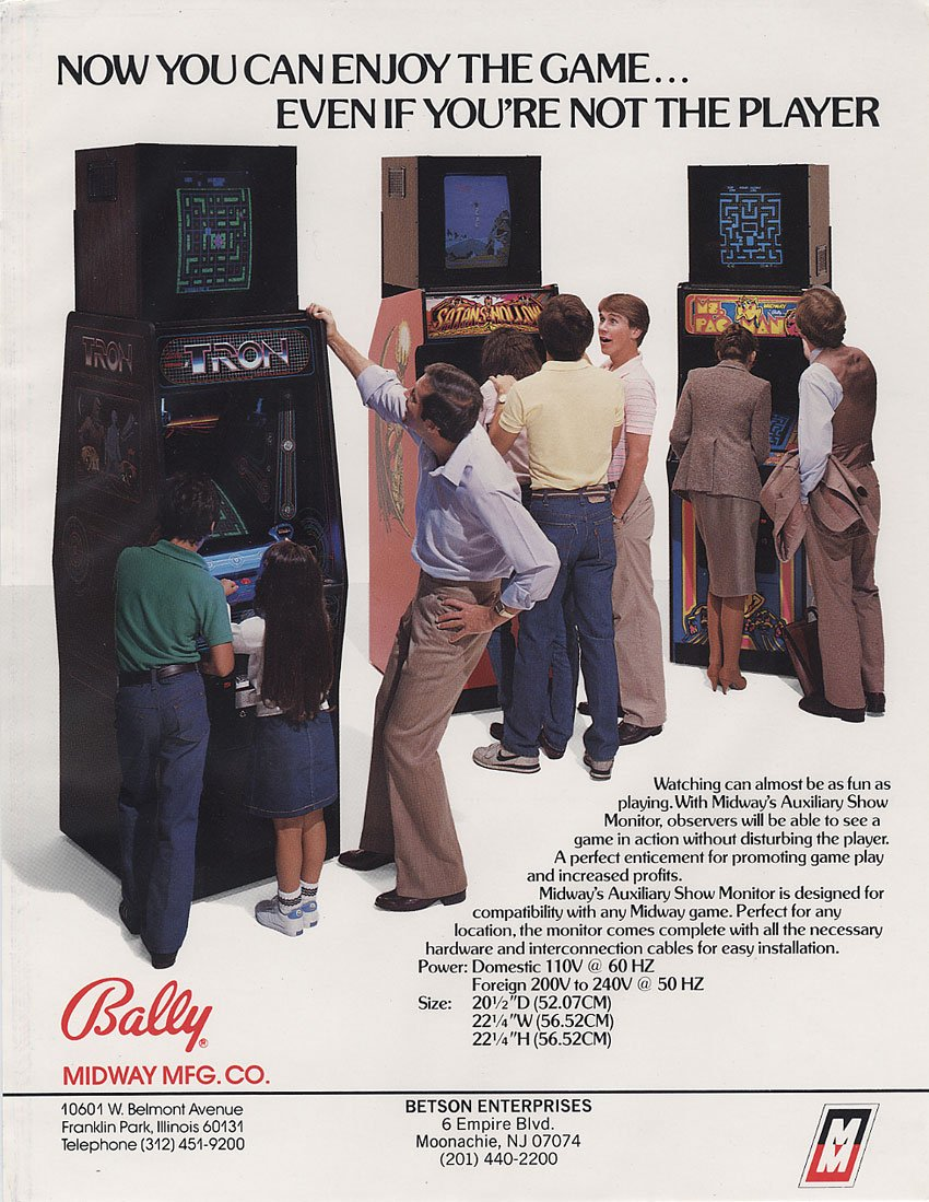 /r/retrogaming top posts of 2015 (#5) #TIL in the 80s Bally made arcade cabinets for spectators #retrogaming @reddit https://t.co/VnpgsPCyQJ