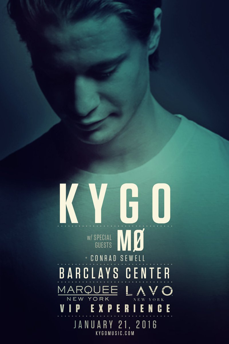 .@LavoNY & @MarqueeNY present the VIP Experience @KygoMusic @barclayscenter 1/21! GA Tix: https://t.co/IKaHf8DPkI https://t.co/lh0o7m8Whm