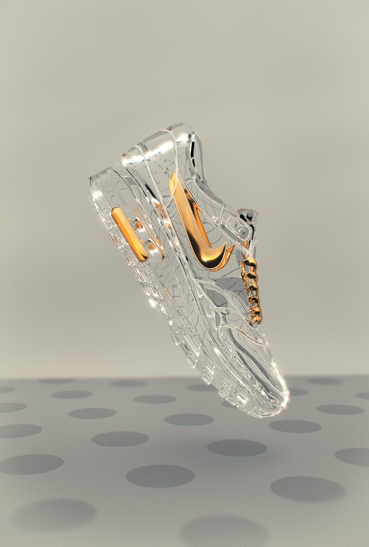 Cinderella's Nikes designed by Ben White | London. https://t.co/50IKFbZgG0