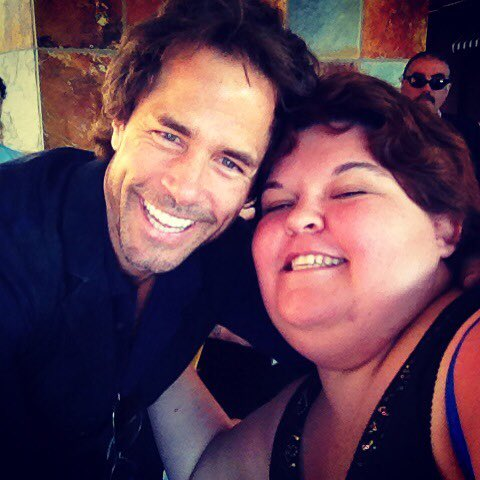 I'll ALWAYS cherish this moment with @ShawnC4real its the 1st time he's ever taken a selfie haha ❤️ you & miss you!! https://t.co/gN5dXePgBL