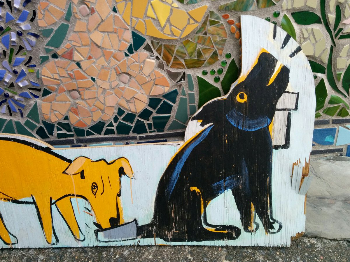 Furry Twitter, in folk art form. https://t.co/9VNAjxnvos