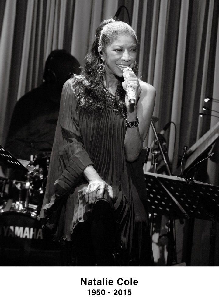 May her soul rest in peace: Ms. Natalie Cole(1950-2015)  Blue Note Tokyo ナタリー・コールさんの訃報に接し、心よりお悔やみを申し上げます。ブルーノート東京 https://t.co/tqrhJMGseY