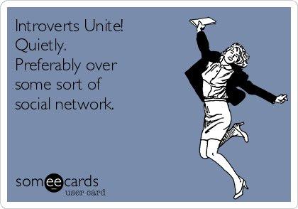 Happy World Introvert Day!