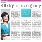 Tribune today n a very happy new yr dearies https://t.co/eslrXWFEig
