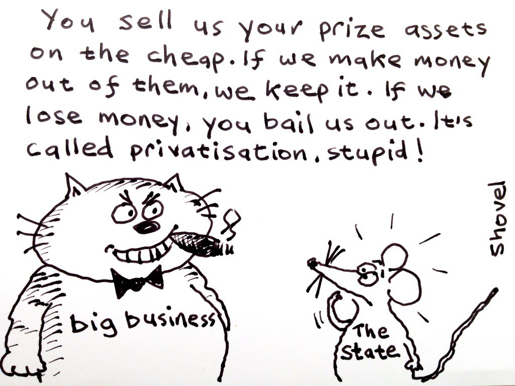 My cartoon - privatisation in a nutshell #R4Today https://t.co/mdIOBMDDbD