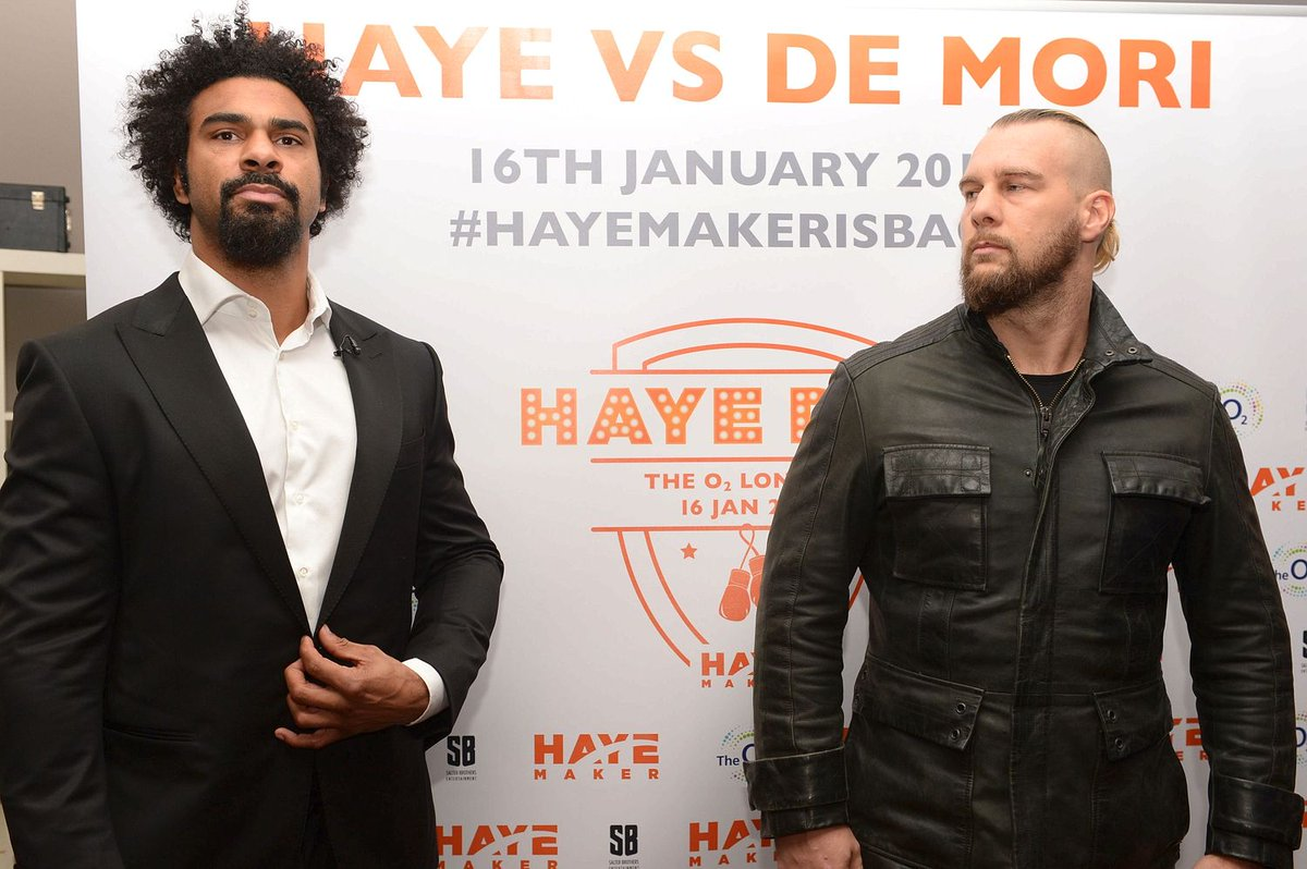 Ex-world champ @mrdavidhaye set to KO TV networks to show comeback fight on YouTube https://t.co/HFkbRxBJuO https://t.co/wOvSglX8CF