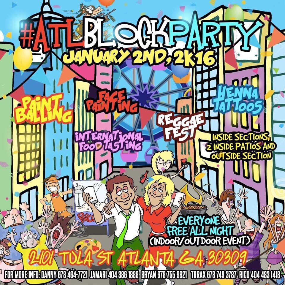 All roads may be leading to #ATLBlockParty tonight!! https://t.co/M6tO3Mef9I