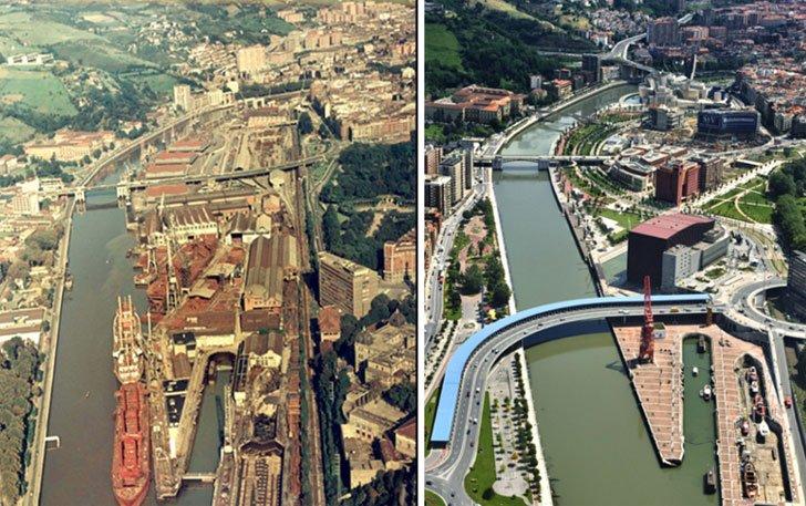 El modelo de transformación urbana de #Bilbao, ejemplo en el mundo entero https://t.co/LQLxkeVxF9 https://t.co/LqoeiqTp8q