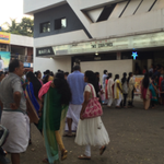 RT @tweet4thala: #TwoCountries @mamtamohan - Ladies que for 6.00 PM Show at Muvattupuzha Maria !! (Pic taken at 5,30 PM). https://t.co/8UaY…