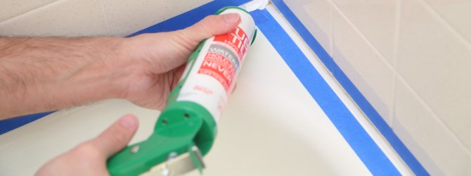 You don't want leaks here...how to caulk your shower. #projectoftheday https://t.co/3WZIlNlyn9 https://t.co/zjVCnFpmam
