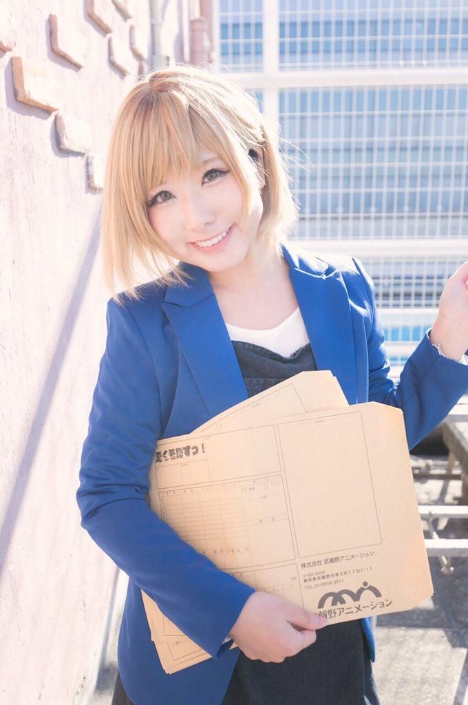 《こす注意!》17話はじまっちゃったとこだけど、SHIROBAKO一挙放送、MX!!!おめでとう〜〜ヽ(;ω;)ノ💖みん