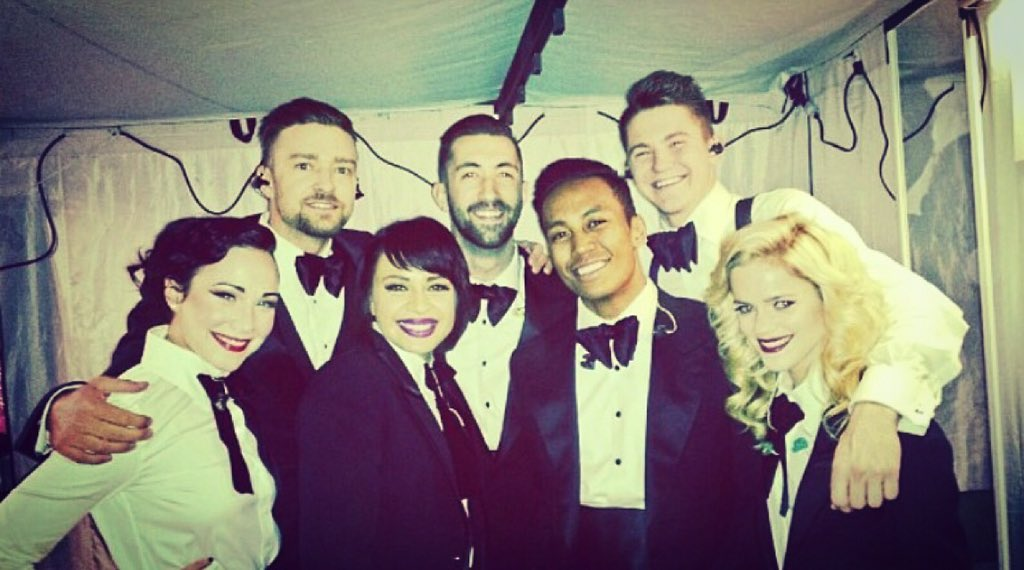 It's the 1 YEAR ANNIVERSARY of our final show! @jtimberlake @thetnkids To the past,present,& Future. #2020experience https://t.co/bwhA7GyDQO