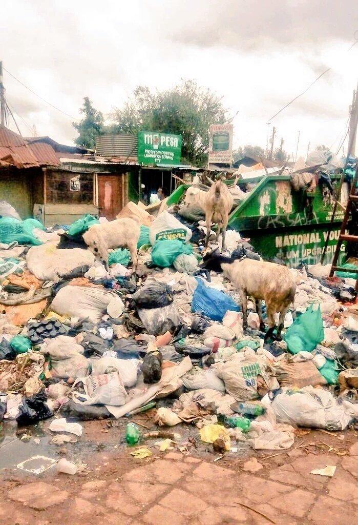 The tail end of 2015 saw Nairobi  & esp Eastleigh, CBD, Kibera & Kawangware drowning in garbage #NrbGarbageDebate https://t.co/tKdcbD6G17