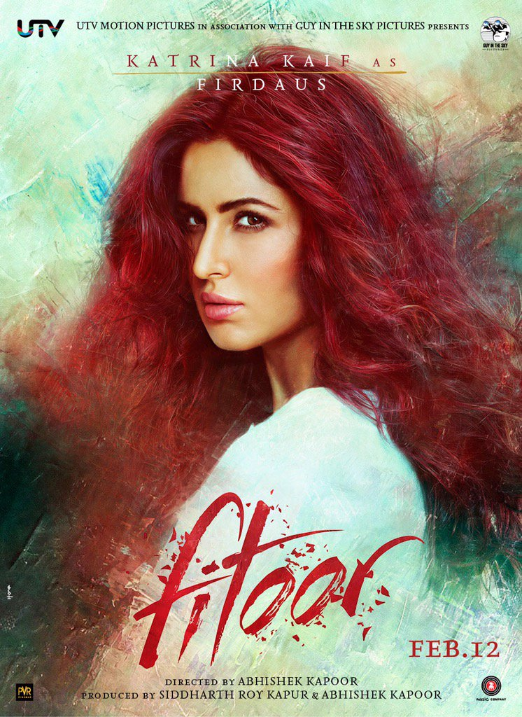 Thank u for all ur love and patience evey1. Here she is #firdaus  #fitoor #guyinthesky  #utv https://t.co/kFoQarGaC0