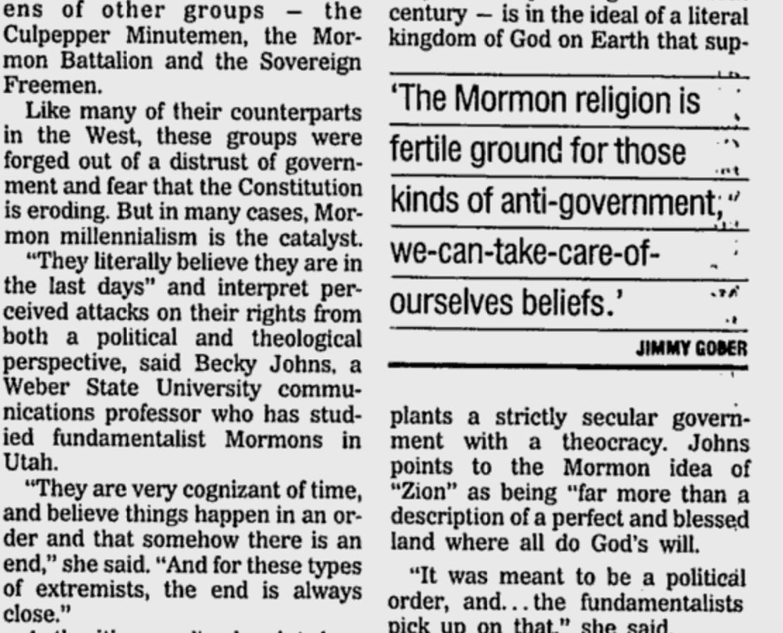 Utah Militias Tied Up In Mormon Culture By Mike Carter @AP 5/6/95 https://t.co/XFudRguZw8 #OregonUnderAttack https://t.co/v5PwAduNAF