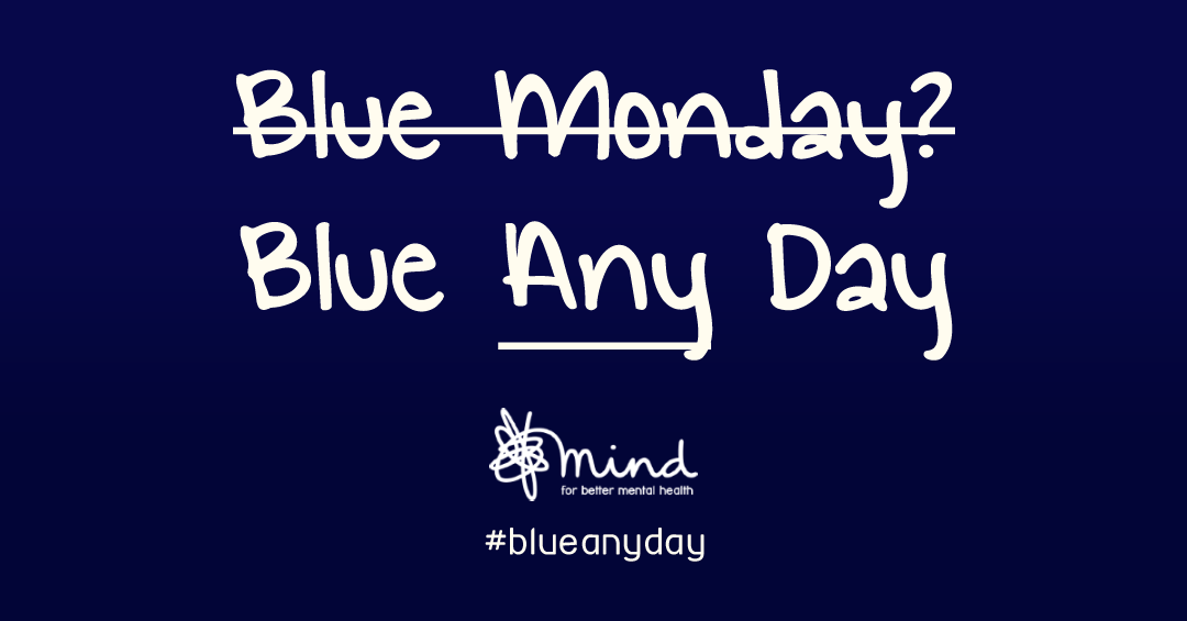 B̶l̶u̶e̶ ̶M̶o̶n̶d̶a̶y̶?̶ Blue *Any* Day Depression doesn't care what day it is. https://t.co/L7LHFxd4vU #blueanyday https://t.co/nveKoymaKv