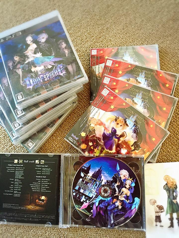 1月14日発売のPS3ゲーム、オーディンスフィア / レイヴスラシルが発売されました。 シャナヒーの上原奈未さんやベイシスケイプの崎元さんが作曲を担当されています。 ボーカルや一部の生楽器は弊社スタジオで録音させて頂きました。 https://t.co/0NcX7xDG5i